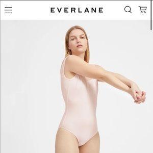 NWOT Everlane Pale Pink Tank Bodysuit